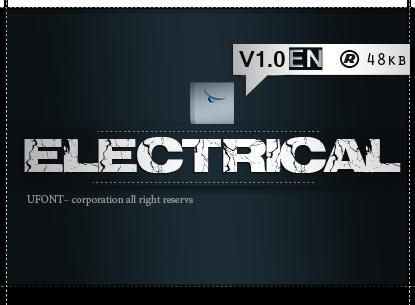 فونت لاتین electrical
