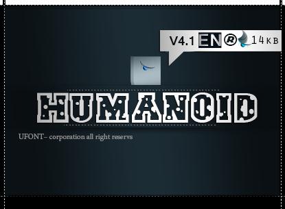 دانلود فونت Humanoid