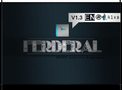 دانلود فونت Federal