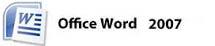 logo word 2007
