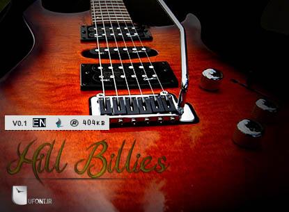 دانلود فونت HillBillies