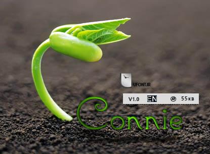 فونت جدید Connie