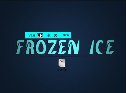 فونت لاتین FrozenICe