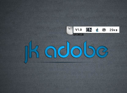 فونت لاتین Jk-Adobe