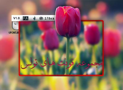 مجموعه فونت فارسی تولس