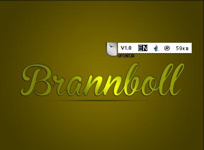 دانلود فونت لاتین Brannboll - پیشنمایش