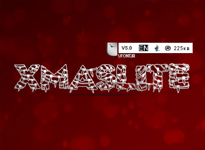 دانلود فونت لاتین Xmaslite - پیشنمایش