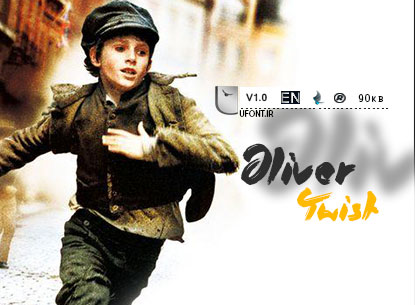 پیش نمایش فونت oliver_twist